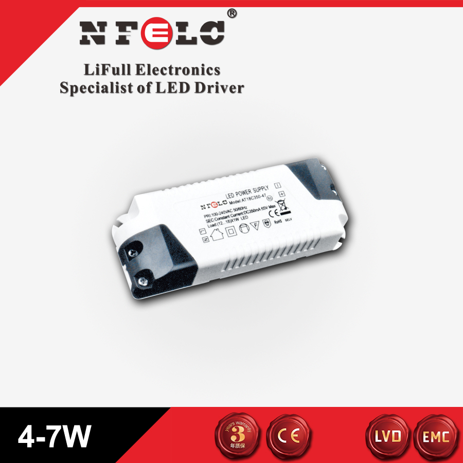 CB certificate LED constant current driver 4-7W