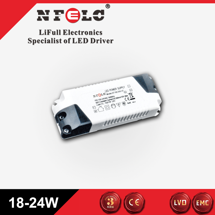 CB and SAA certificate LED constant current driver 18-21W
