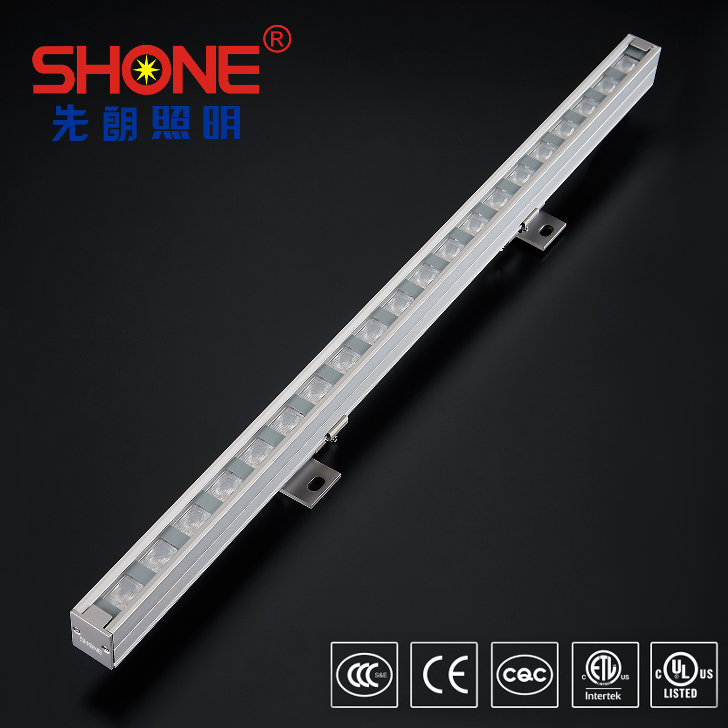 Shone Lighting 22x27LED Linear Light Wall Washer with CE ETL Certificate IP66 for Outdoor Lighting