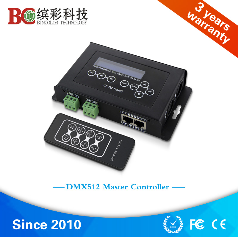 BC-100 High quality DMX512 controller WITH TIMER