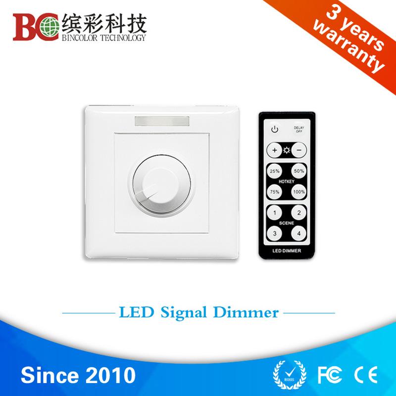 rotary switch ir remote control AC85V-250V 0-10v led dimmer
