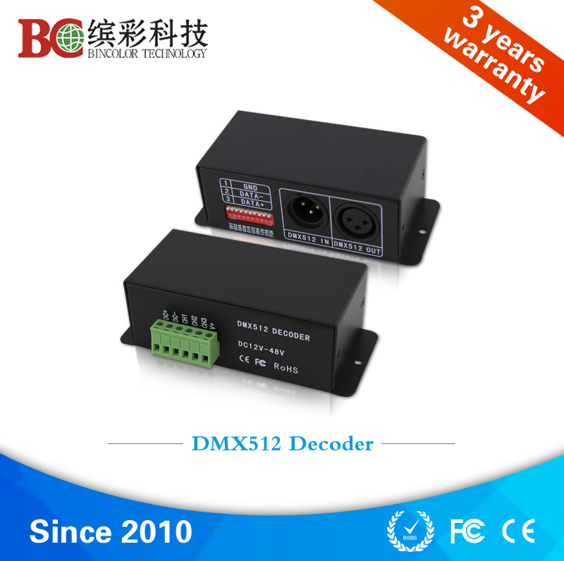 3ch constant current 700ma DMX512 decoder rgb