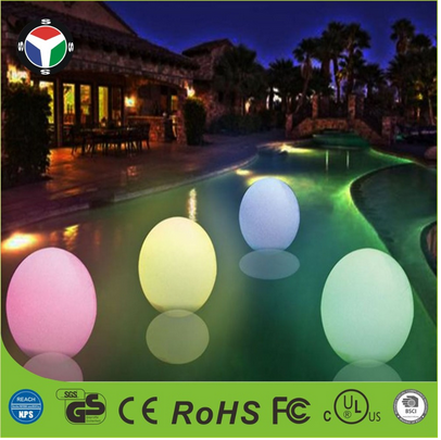 IP68 Decorative Ball shape color changing rechargeable LED Mood Light