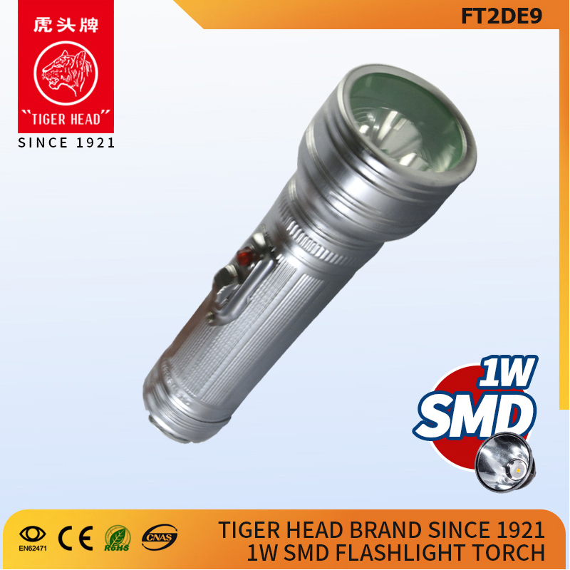 led flashlight torch metal export to African FT2DE9F