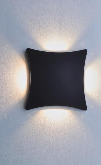 SEAMON outdoor wall lamp 2027 Aluminum IP54