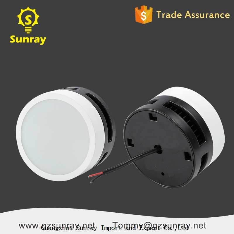 PC Plastic Aluminum High quality SMD 7w 12w ip65 led surface mounted downlight