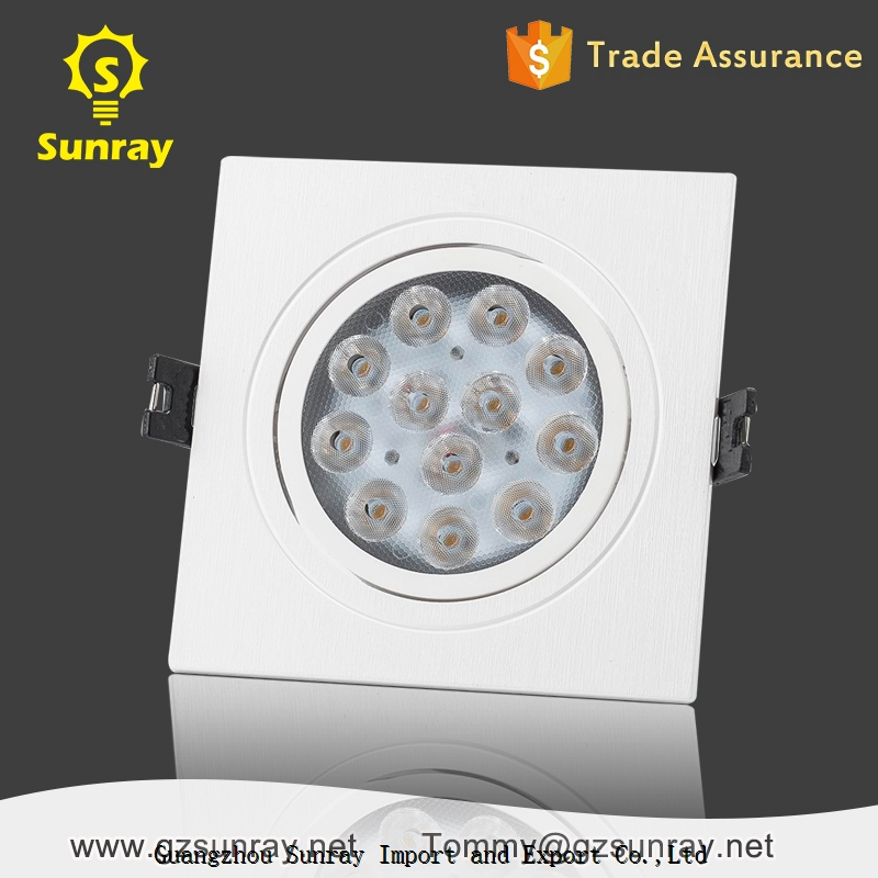 UL Aluminum slim ultra thin 24v 6 inch 3w 7w fire rated SMD ceiling surface mounted LED downlight