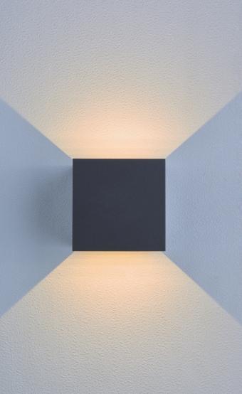SEAMON outdoor wall lamp 2031 Aluminum IP54