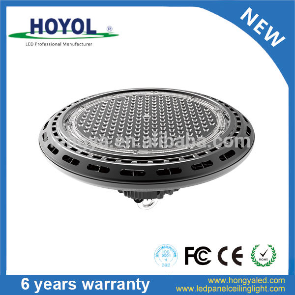 Aluminum Meanwell Driver IP65 100lm LED UFO Type High Bay Ligh