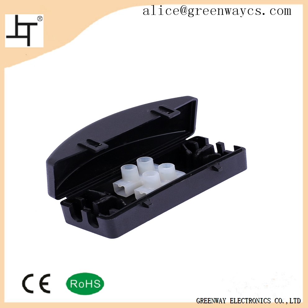 Greenway quick wire connector thin junction box without screw