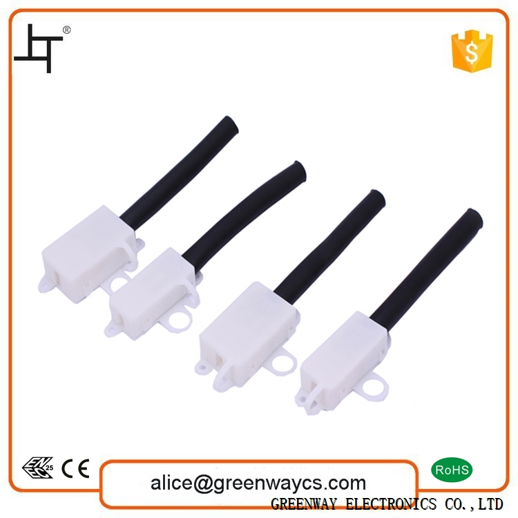 Mini junction box with PVC tube
