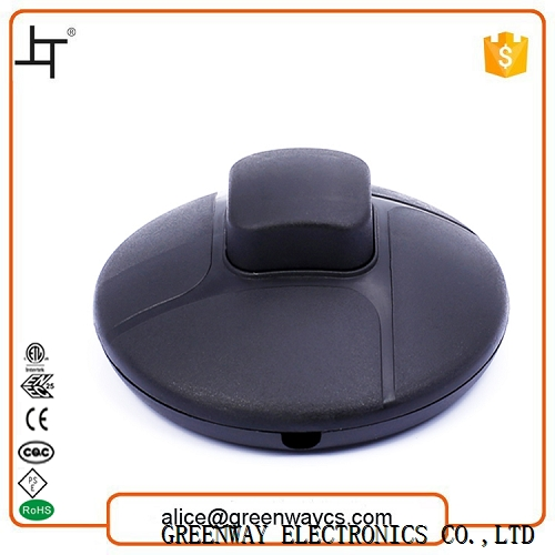 Black floor fan electric foot pedal switch 777 made in China