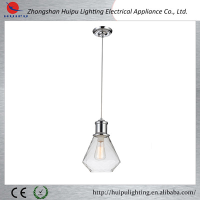 new design pendel leuchte adjustable glass pendant light