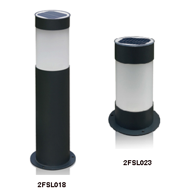 LED solar Lawn-Bollard light with dimmable
