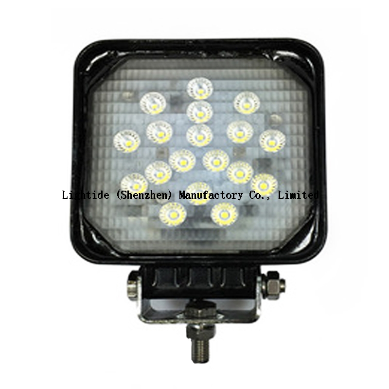 Auto LED Work Lights 12VDC -20W -IP67 Square profile 3 Year Warranty