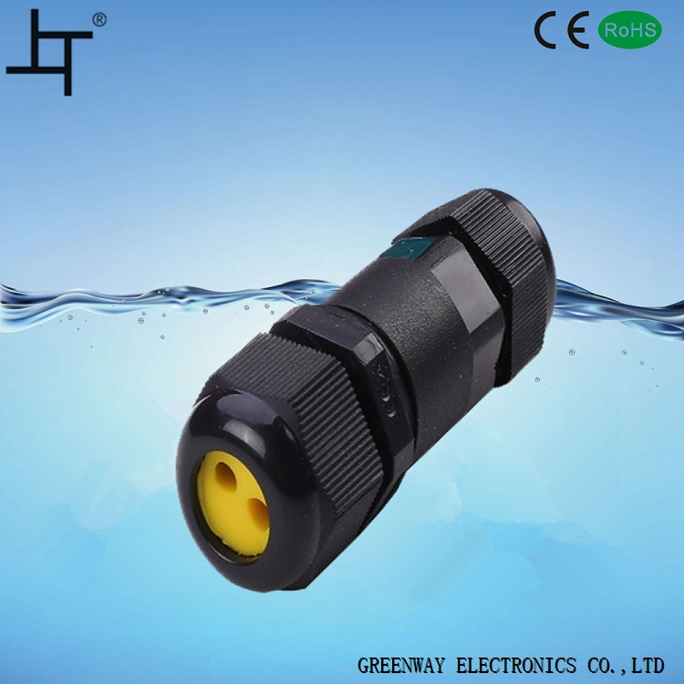 Greenway 3 pin IP68 waterproof connector