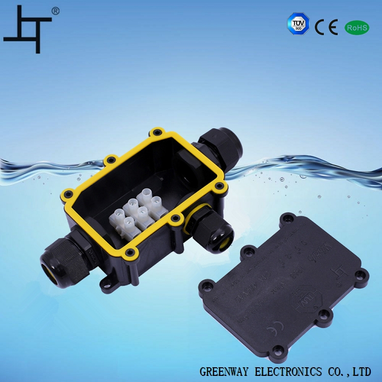 IP68 pvc waterproof junction box in power distribution equipment 686-3