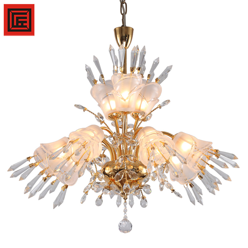 Modern Italian home decorators lighting G9 crystal chandelier lamp hanging