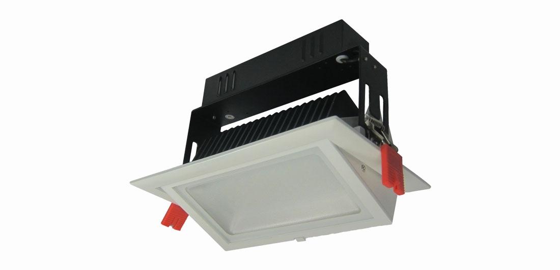 LED Rectangular Downlight AU01-DLR30W