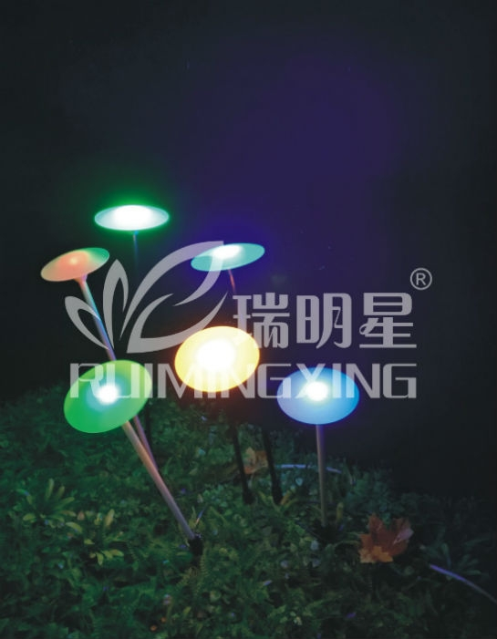 Led ufo colorful ip44 dc24 for decoration