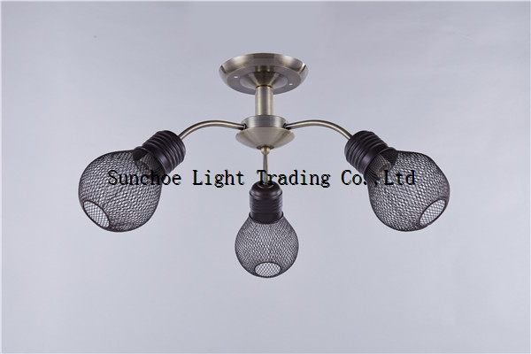 lamp Hot lamparas 2017 ceiling lamp inRussia market with glass shade mordern style