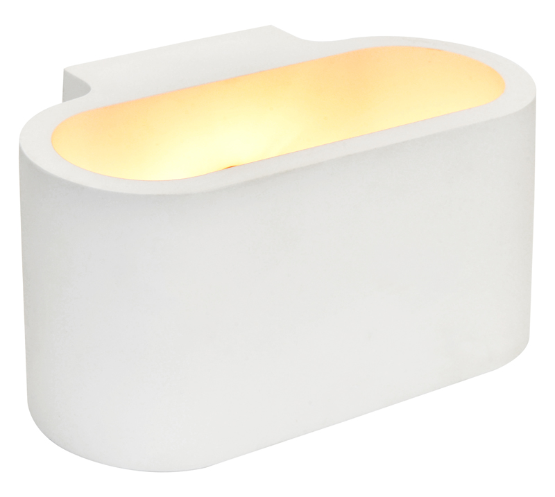 Modern Gypsum lamp White Plaster lighting Simple and Elegant LED Downlight