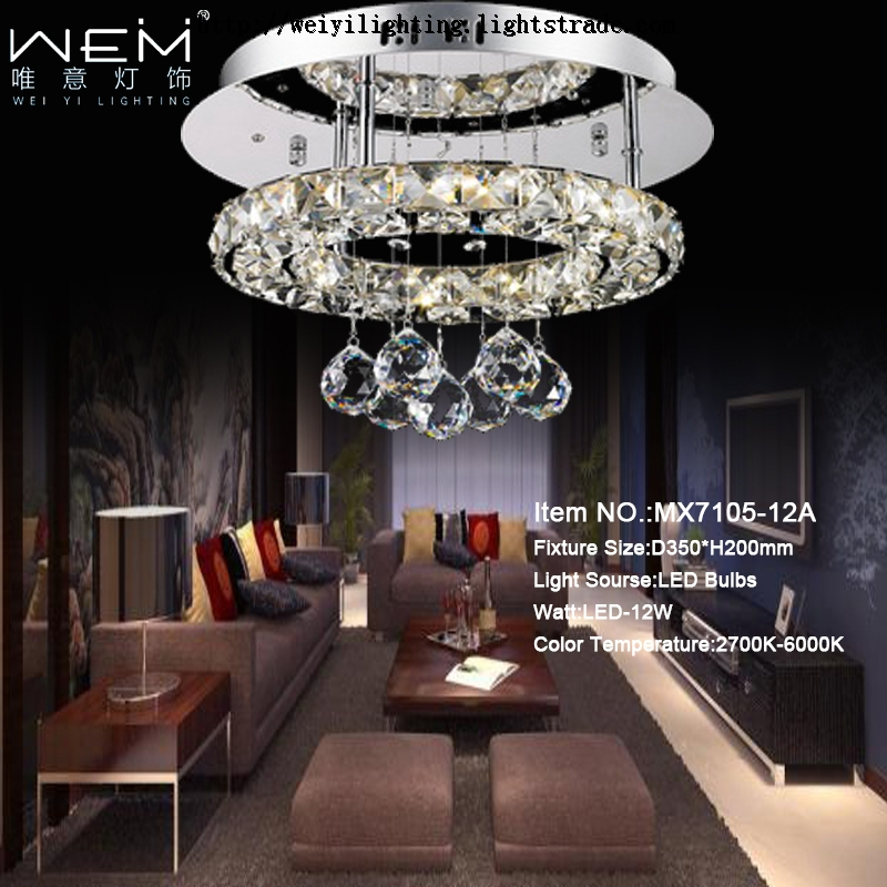 2017 China Suppliers Hot Sale High Quality Bedroom Fancy LED Ceiling Lamp