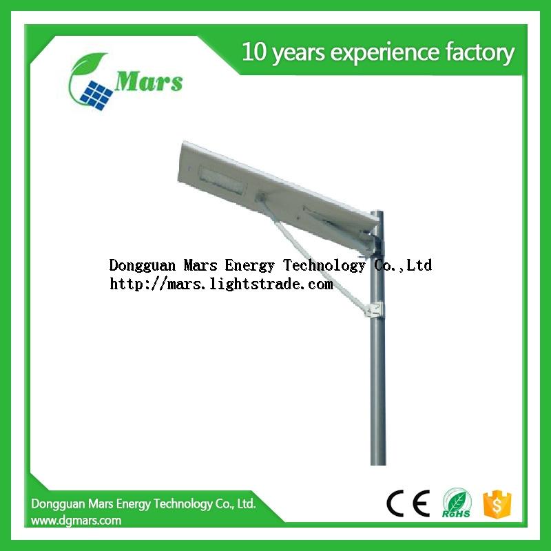 High quality best price guaranteed 5W 8W 12W 15W 18W 20W 30W all in one integrated solar street ligh