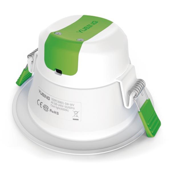 AL2044-color Temp. adjustable commercial downlights
