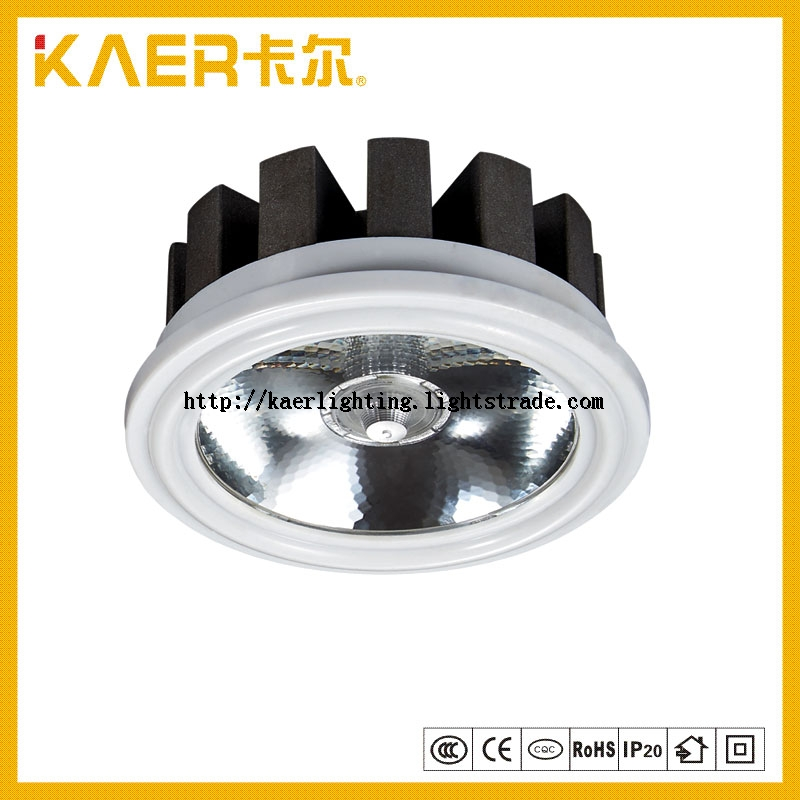 Aluminum Fixture with 18W LED Spotlight AR80 Chips Light Indoor