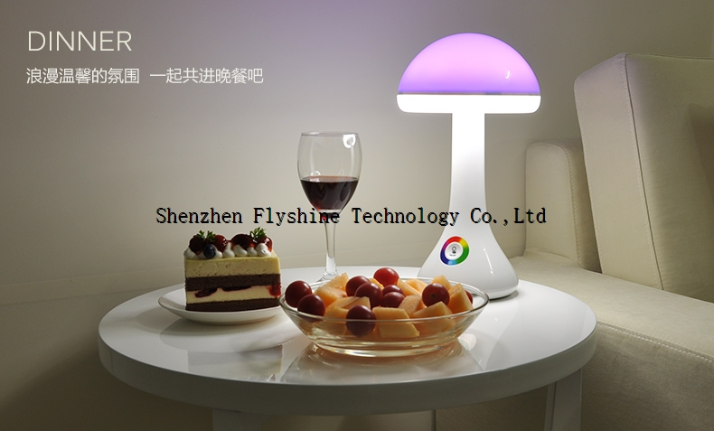 RGB lamp with LED table lamp Portable lamp