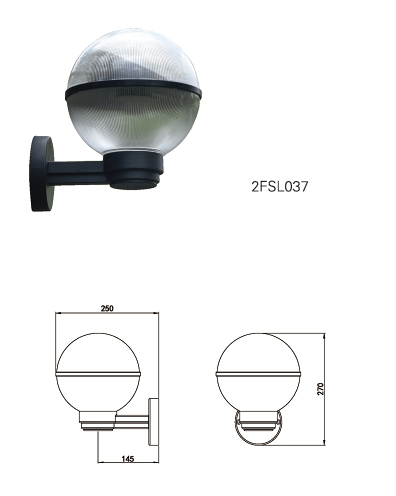 LED wall light with magnet sensor different power control-Hot selling solar light