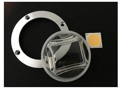 Led street light glass lens
