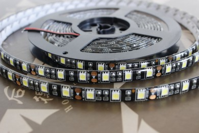 5050SMD 5M flexible led strip 12v SMD 5050 BLACK PCB RGB AND SINGLE COLOR