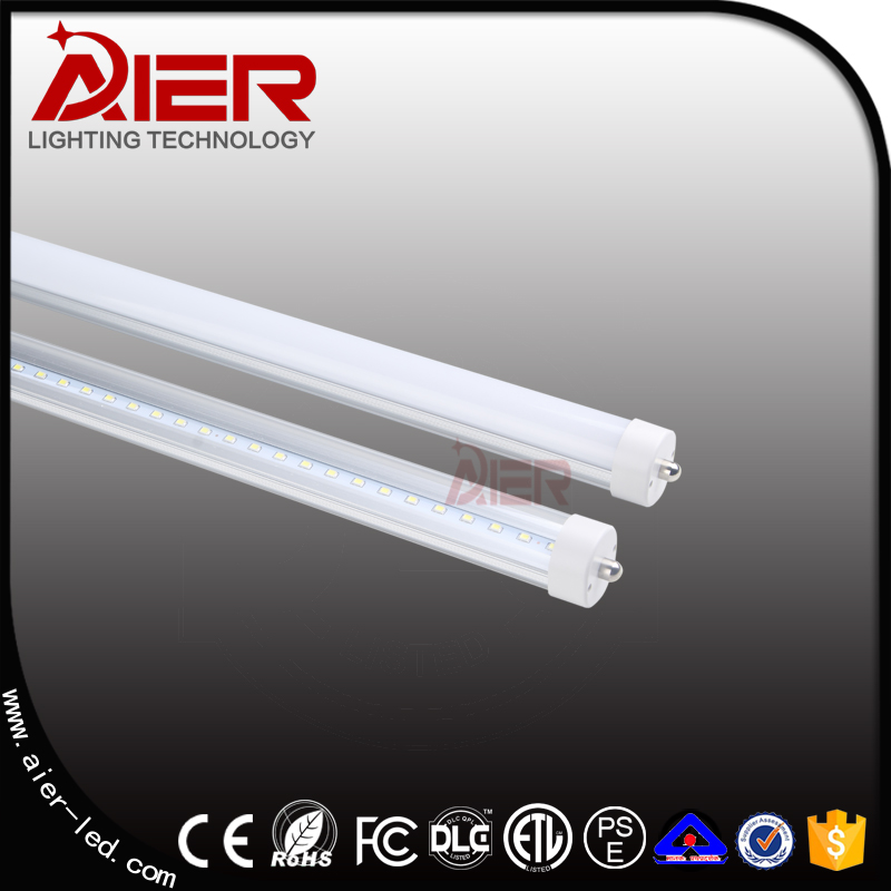ETL approval 2400mm 8ft FA8 T8 led tube lights