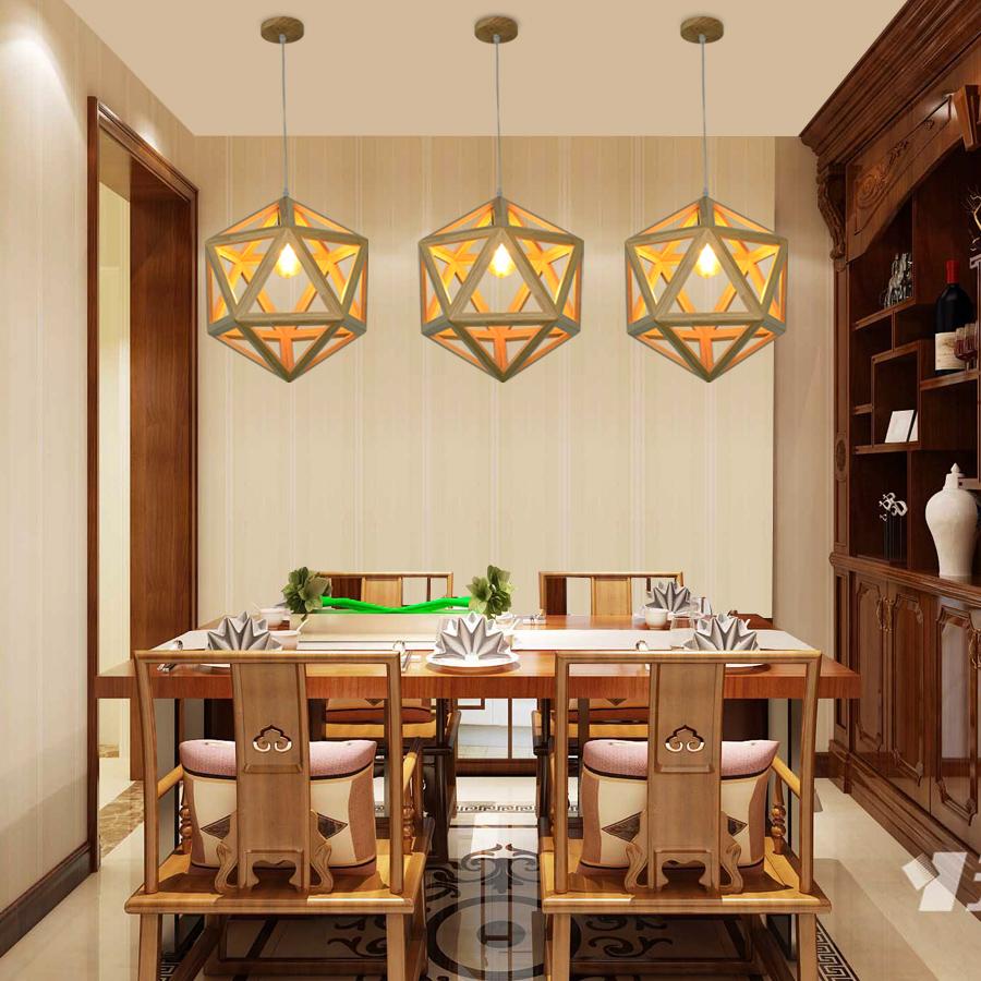 Modern Design Wooden Pendant No.0830-1 Suoling Lighting