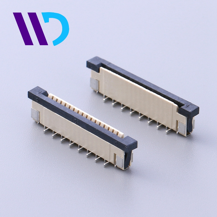 1.0mm pitch FFC FPC PCB connector for various usage