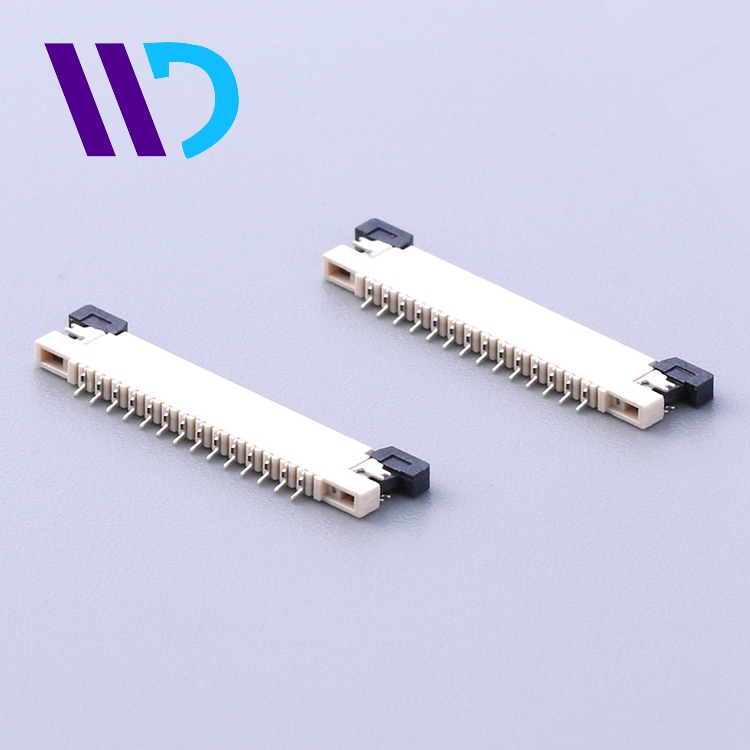 pitch 0.5mm 4P-61Pin SMT upper contact fpc electronic connector