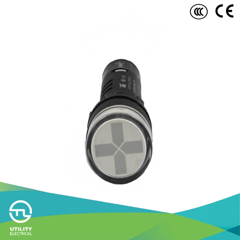 Led dual color indicator light 22mm dual color indicator lamp