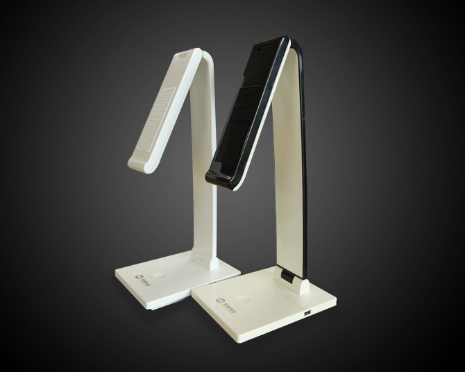 Led table lamp eye protection lamp touch stepless dimming stereo lighting reading study writing beds
