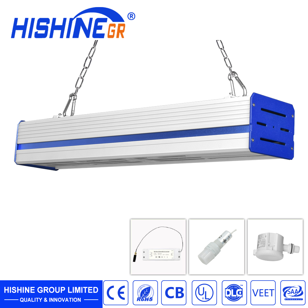 High Lumens 15000Lm Led Warehouse Light 100W UL DLC listed Led Led Linear High Bay Light