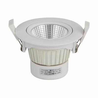 adjustable driver inside integrated led downlight
