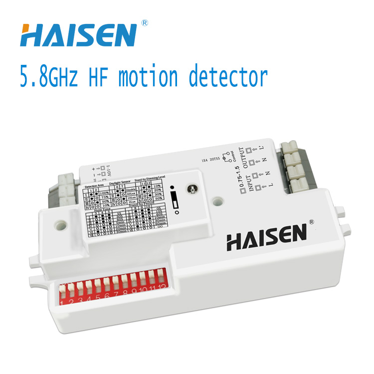HD01V Dimmable control HF motion sensor