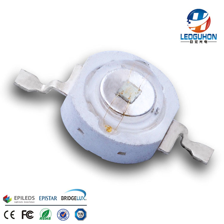 LEDGUHON sell epileds 1W green high power led used for led spotlights
