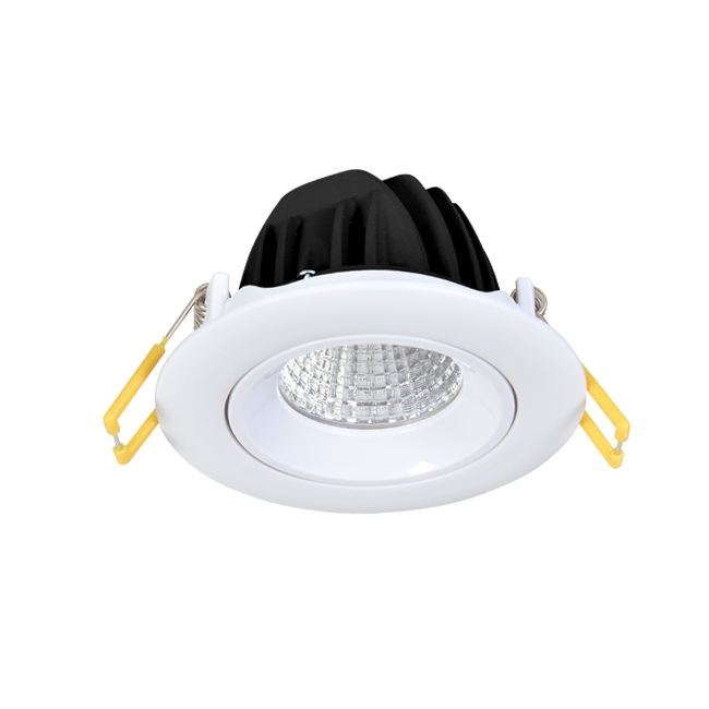 adjustable plastic frame anti-glare led ceilinglight