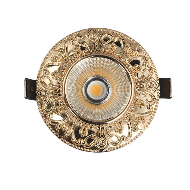 gold antique green antique red chrome 7W led downlight