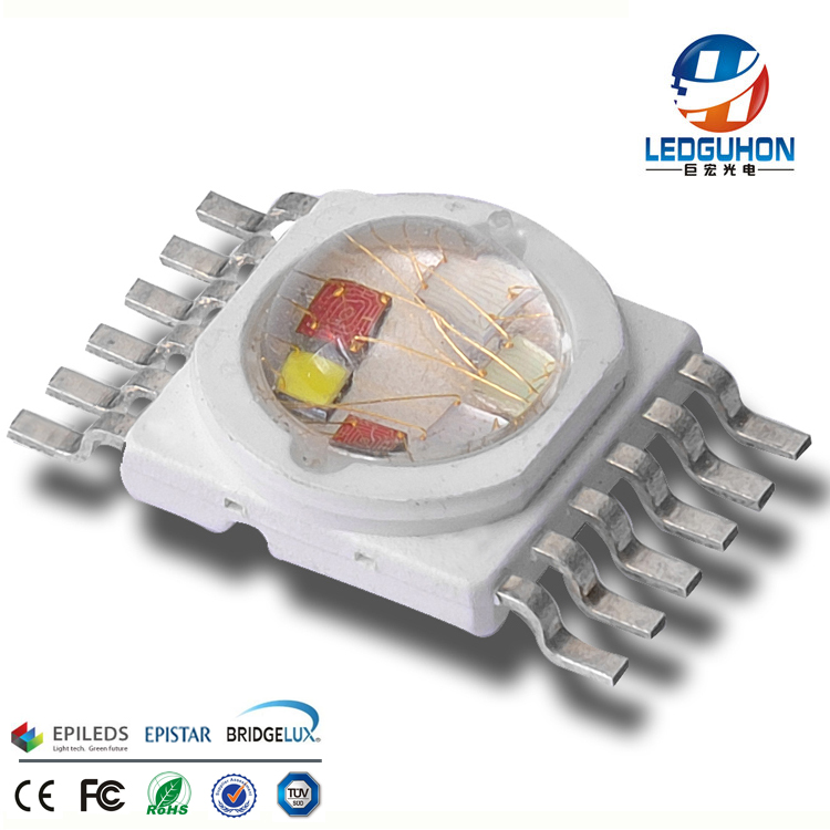 best sell factory price epileds 6in1 12w rgbwyv led chip
