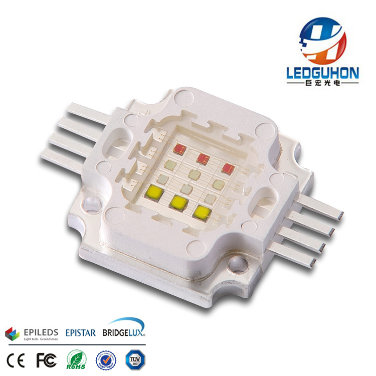 high power cob 12W RGBW led for led pool light