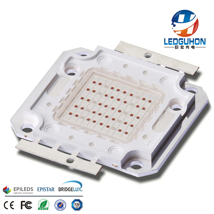 High-power 50w red blue double color led plant light special integrated light source of led light-em
