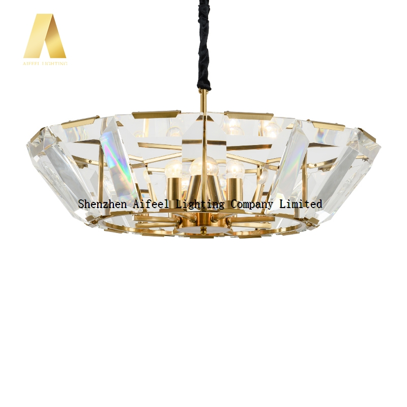 New Style K9 Crystal Antique Gold Color